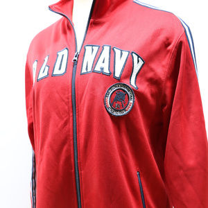 Old Navy Jackets & Coats - Old Navy Red Barcelona Athletic ZipUp Jacket Large